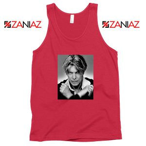 David Bowie Red Tank Top
