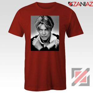 David Bowie Red Tshirt