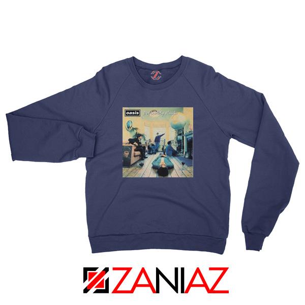 Definitely Maybe Navy Blue Sweatshirt