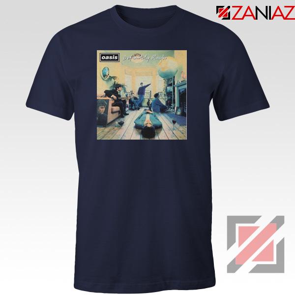 Definitely Maybe Navy Blue Tshirt