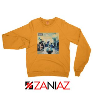 Definitely Maybe Orange Sweatshirt