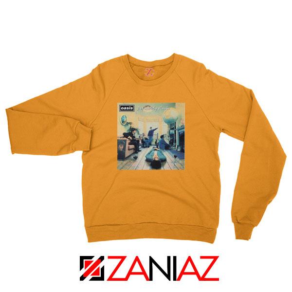 Definitely Maybe Orange Sweatshirt