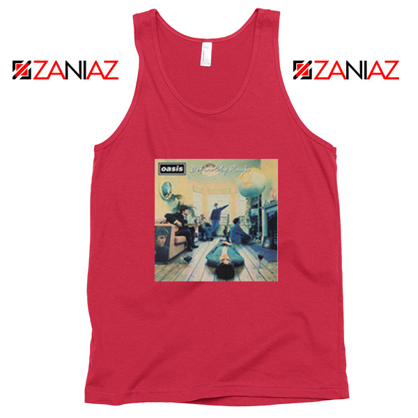 Definitely Maybe Red Tank Top