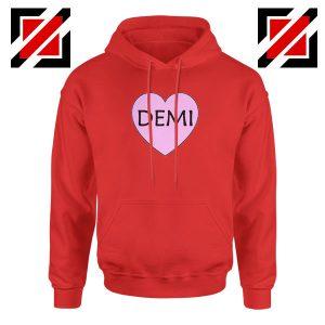 Demi Lovato Heart Red Hoodie