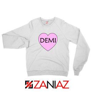 Demi Lovato Heart Sweatshirt
