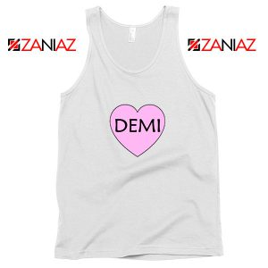 Demi Lovato Heart Tank Top