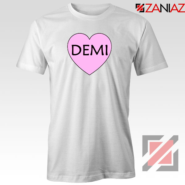 Demi Lovato Heart Tshirt