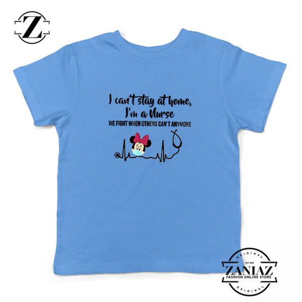 Disney Minnie Mouse Nurse Blue Kids Tshirt