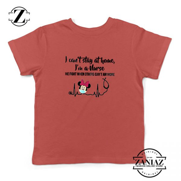 Disney Minnie Mouse Nurse Red Kids Tshirt