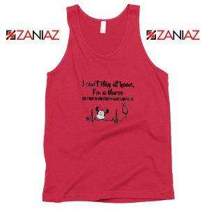 Disney Minnie Mouse Nurse Red Tank Top