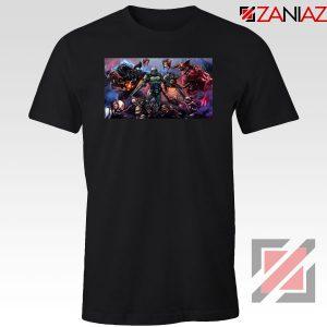 Doom 2016 Poster Black Tshirt