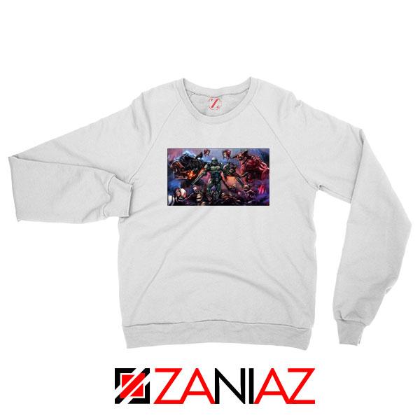 Doom 2016 Poster Sweatshirt