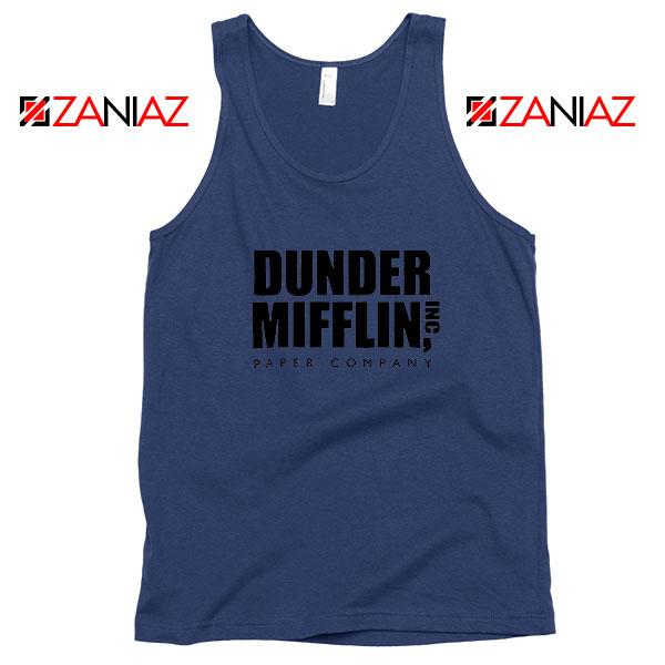 Dunder Mifflin Navy Blue Tank Top