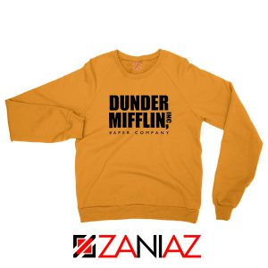 Dunder Mifflin Orange Sweatshirt