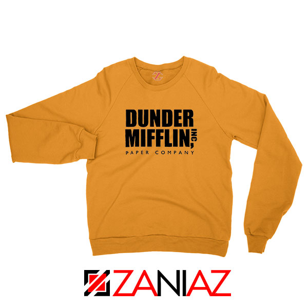 Dunder Mifflin Orange Sweatshirt