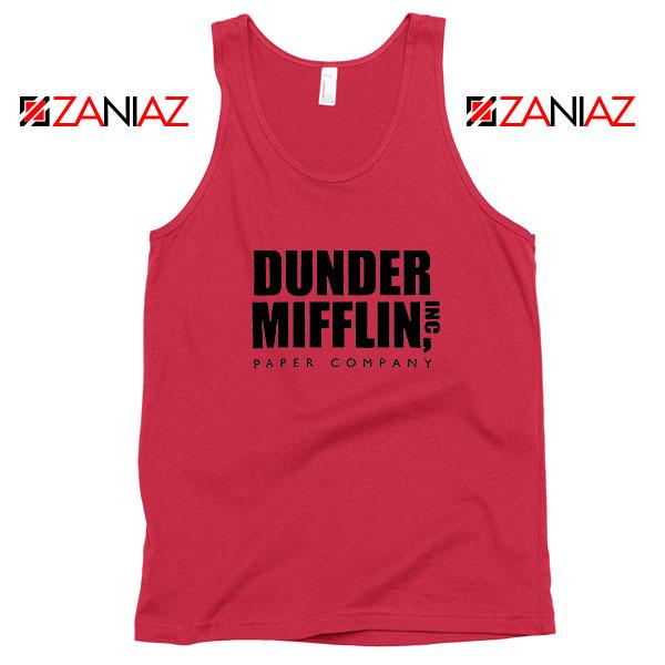 Dunder Mifflin Red Tank Top