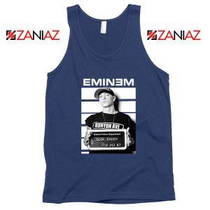 Eminem Slim Shady Navy Blue Tank Top