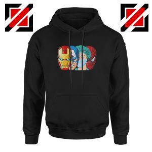 Female Nurse Heroes Black Hoodie