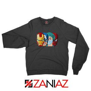 Female Nurse Heroes Black Sweatshirt