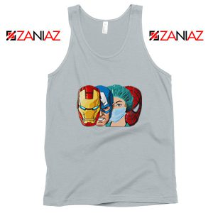 Female Nurse Heroes Sport Grey Tank Top