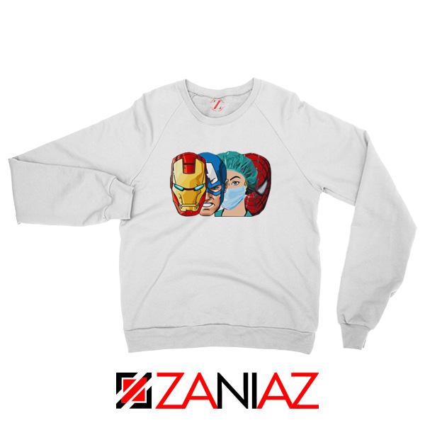 Female Nurse Heroes Sweatshirt