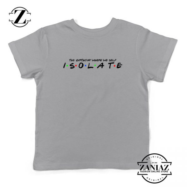 Friends Parody Isolate Sport Grey Kids Tshirt