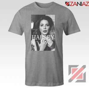 Halsey Singer Poster Sport Grey Tshirt