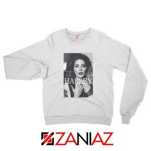Halsey Singer Poster White Sweatshirt