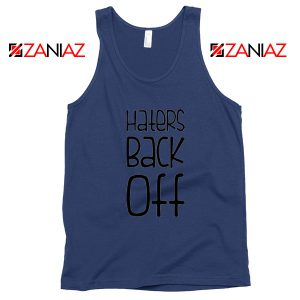 Haters Back Off Miranda Sings Navy Blue Tank Top