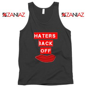 Haters Back Off Netflix Comedy Black Tank Top