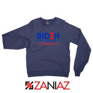 Joe Biden For President Navy Blue Sweatshirt