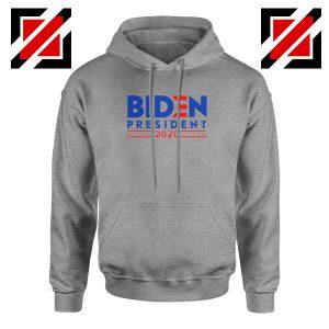 Joe Biden For President Sport Grey Hoodie