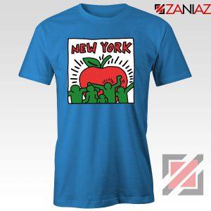 Keith Haring Graffiti New York Blue Tshirt