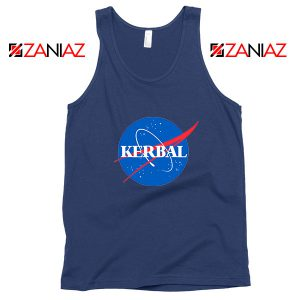 Kerbal Space Program Navy Blue Tank Top