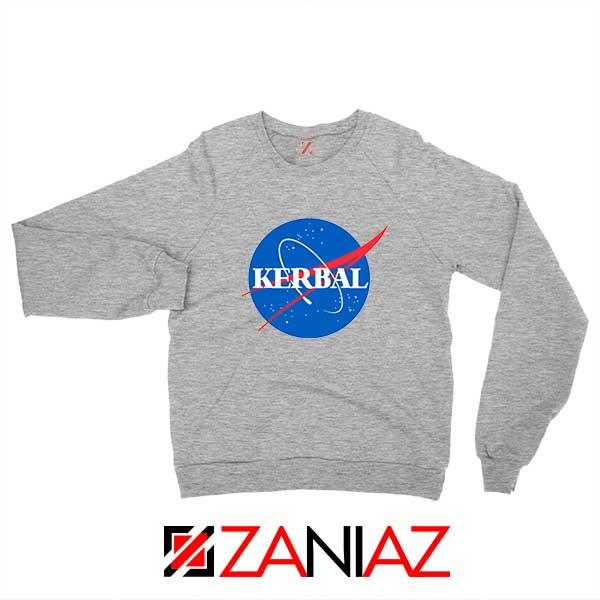 Kerbal Space Program Sport Grey Sweatshirt