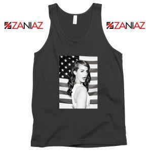 Lana Del Rey American Flag Tank Top