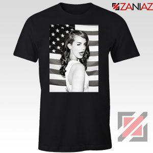 Lana Del Rey American Flag Tshirt