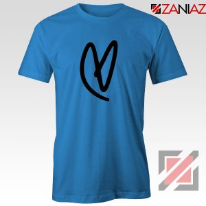 Lovatic Heart Blue Tshirt
