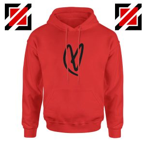 Lovatic Heart Red Hoodie