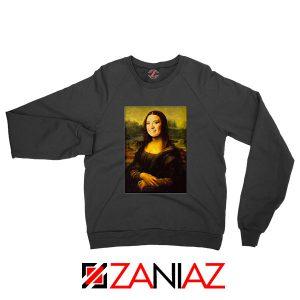 Lovato Monalisa Posters Black Sweatshirt