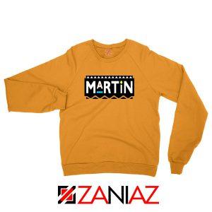 Martin Comedy Orange Sweatshirt