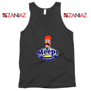 Meeps and Company Black Tank Top
