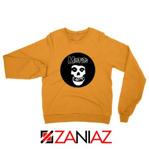 Misfits Posters Orange Sweatshirt