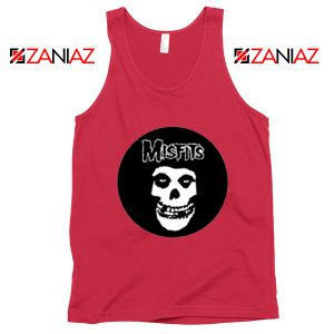 Misfits Posters Red Tank Top