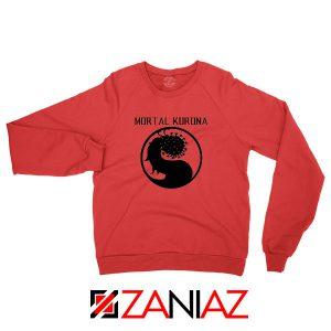 Mortal Korona Red Sweatshirt
