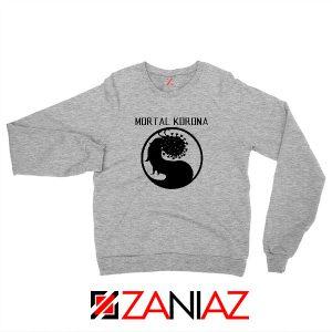 Mortal Korona Sport Grey Sweatshirt