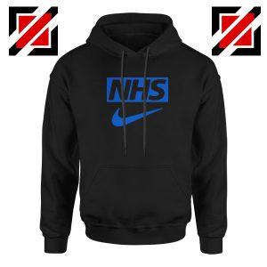 NHS Nike Parody Black Hoodie