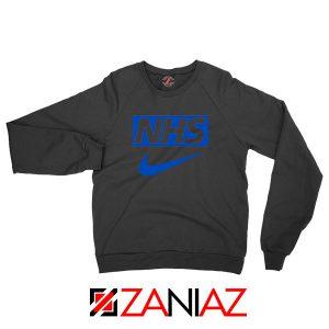 NHS Nike Parody Black Sweatshirt