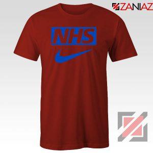 NHS Nike Parody Red Tshirt