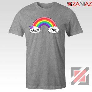 NHS Rainbow Thank You Sport Grey Tshirt